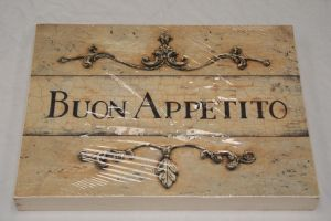 Italian dining printed signs 3 styles